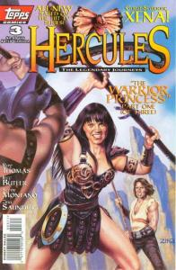 Hercules: The Legendary Journeys #3A VF/NM; Topps | save on shipping - details i