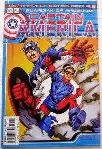 CAPTAIN AMERICA: GUARDIAN OF FREEDOM #1 (2000) Marvel Comics ID#MBX2