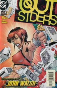 Outsiders (3rd Series) #18 VF/NM; DC | save on shipping - details inside