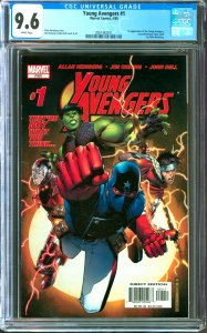 Young Avengers #1 CGC Graded 9.6  1st appearance of the Young Avengers