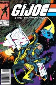 G.I. JOE #65 Marvel Comics (ungraded) stock photo / ID#B-4