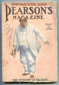 Pearson's Magazine May 1907- Mystery of Mr Taft VG