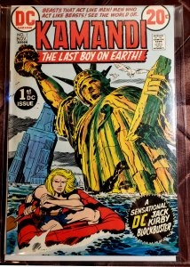 Kamandi, The Last Boy on Earth #1 (1972)
