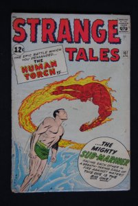 Strange Tales #107  Human Torch, Sub-Mariner 4th SA appearance