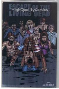 ESCAPE of the LIVING DEAD Annual #1, NM, LIMITED,Zombies, more Horror in store