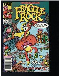 Fraggle Rock #2 (Star Comics, 1985) $.65 Variant