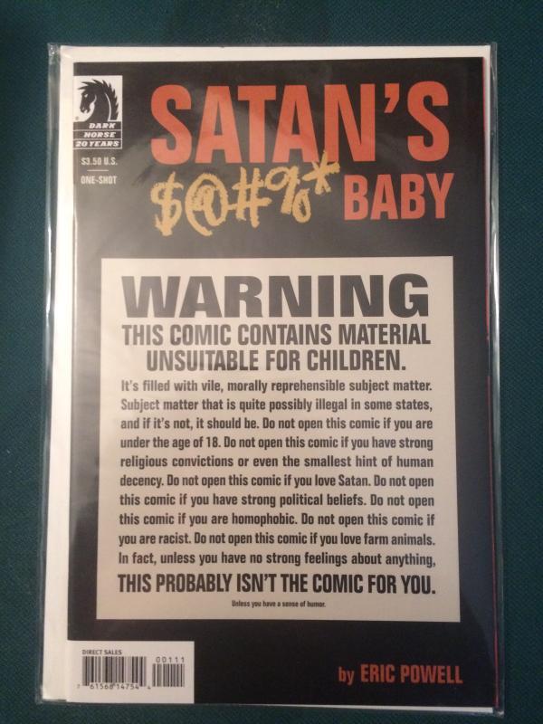 Satan's $@#%* Baby one-shot