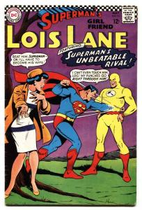 SUPERMAN'S GIRLFRIEND LOIS LANE #74-1st appearance of Bizarro Flash