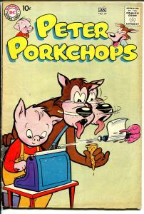 Peter Porkchops #59 1958-DC-ice cream cover-VG/FN