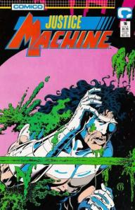 Justice Machine (1987 series) #16, NM + (Stock photo)