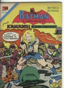 Batman serie Aguila numero 864: Kamandi