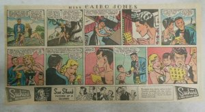 Miss Cairo Jones Sunday by Bob Oksner from 9/22/1946 Size: 7.5 x15 inches GGA
