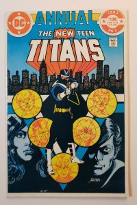 The New Teen Titans Annual 2 1ST Appearance Vigilante DC Comics 1983 VG/FN