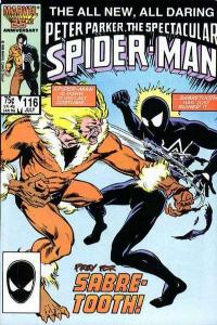 Spectacular Spider-Man (1976 series) #116, NM- (Stock photo)