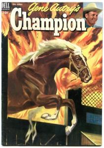 Gene Autry's Champion #9 1953-Dell Golden Age Western F/VF