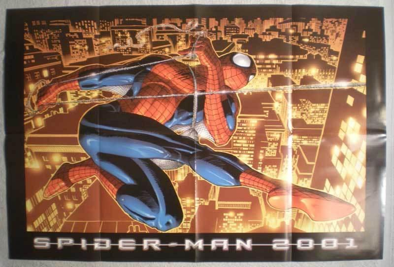 SPIDERMAN 2001 Promo poster, 36x24, 2001, Unused, more Promos in store