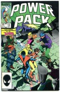 Power Pack #12 1985- 1st BEAUTIFUL DREAMER- X-Men NM-