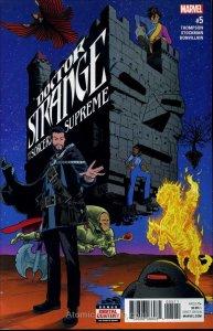 Doctor Strange and the Sorcerers Supreme #5 VG; Marvel | low grade comic - save