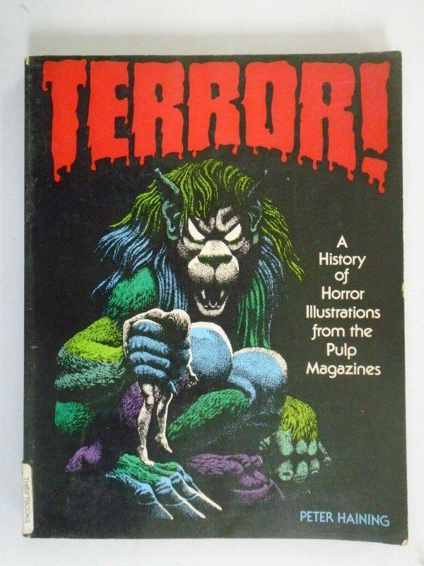 Terror! A History of Horror Illustrations... SC 4.0 VG