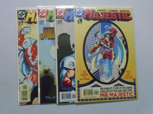 Majestic set #1 to #4 - 1st First Series - 8.0 - 2004