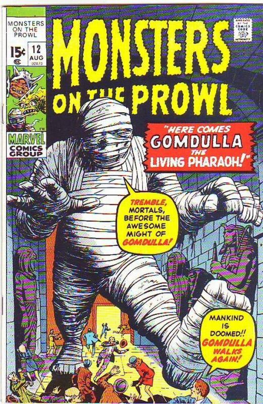 Monsters on the Prowl #12 (Aug-71) NM Super-High-Grade