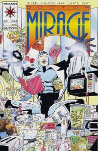 Second Life of Doctor Mirage, The #8 VF/NM; Valiant | save on shipping - details