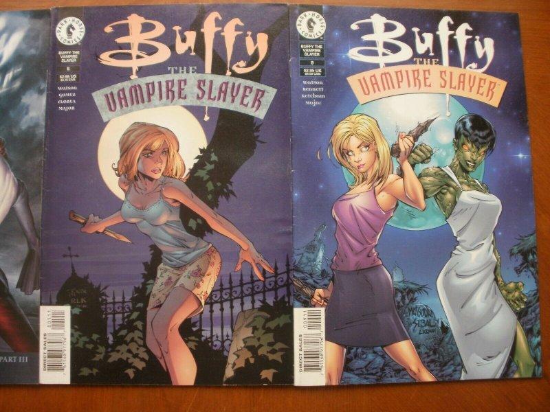 3 Near-Mint Dark Horse Comic: BUFFY THE VAMPIRE SLAYER #3 5 9 (Long Way Home)