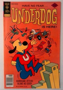 Underdog #14 Gold Key 1977 FN- Bronze Age Comic Book 1st Print