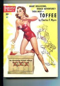 IMAGINATIVE TALES-#1-SEPT 1954-TOFFEE-McCAULEY-SOUTHERN STATES PEDIGREE-fn