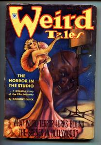 Weird Tales June 1935- Brundage cover- Conan story-Pulp Magazine