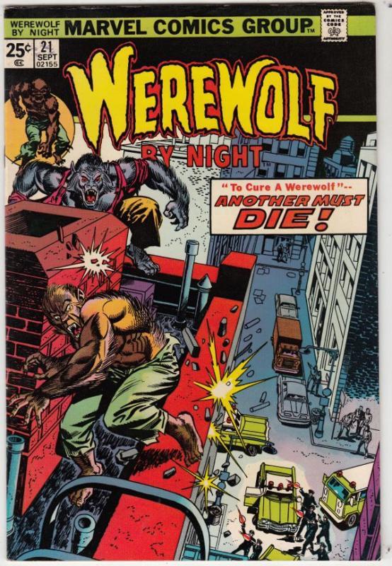 Werewolf by Night #21 (Sep-74) VF/NM High-Grade Werewolf