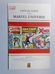 Official Index to the Marvel Universe #1 8.0 VG (2009)