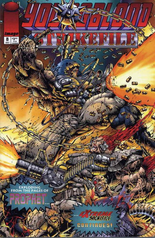 Youngblood: Strikefile #8 VF; Image | save on shipping - details inside