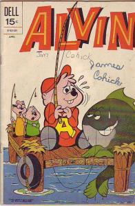 Alvin #24 (Apr-72) VG Affordable-Grade Alvin, Theodore, Simon, Dave