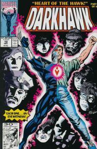 Darkhawk #10 VF/NM; Marvel | save on shipping - details inside