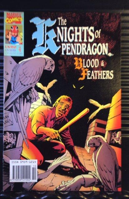 Knights of Pendragon (UK) #4 (1990)