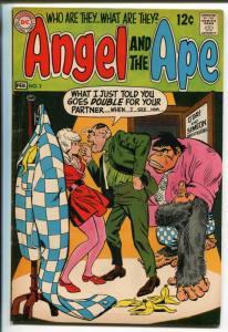 ANGEL AND THE APE #2 1969-DC COMICS-WALLY WOOD ART-vf minus
