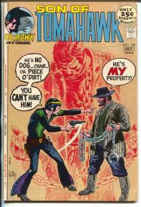 Tomahawk  #136 1971-DC-Son of Tomahawk-Kubert-Firehair-Giant Issue-VG