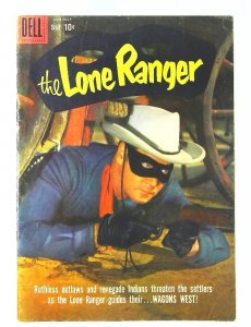 Lone Ranger (1948 series) #128, Fine (Actual scan)