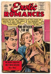 Exotic Romances #28 1956- Matt Baker- Rare comic G/VG