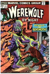 WEREWOLF by NIGHT #17, VF/NM, Wolf, Don Perlin, Behemoth, 1972, more WW in store
