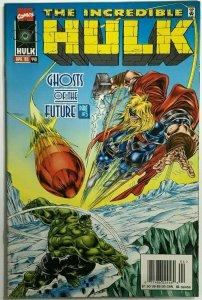 INCREDIBLE HULK#440 VF/NM 1996 VS HULK MARVEL COMICS