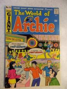 WORLD OF ARCHIE # 171 ARCHIE GIANT JUGHEAD VERONICA BETTY RIVERDALE CARTOON