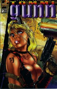 TOMMI GUNN #2, NM, Femme fatale, London Night, 1996, more indies in store