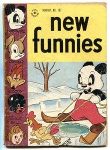 New Funnies #107 1946- Woody Woodpecker FR