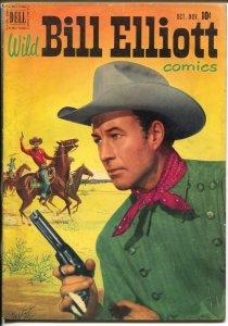 Wild Bill Elliott #7 1951-Dell-B-Western film star-Bob Jenny art-FN-