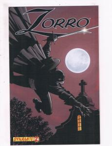 Zorro # 2 VF Dynamite Entertainment Comics The Masked Hero Awesome Issue!!!! SW5