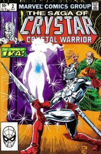Saga of Crystar: Crystal Warrior #2, VF (Stock photo)