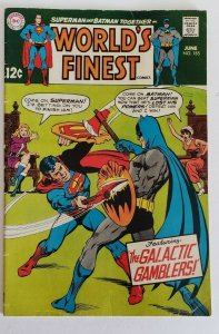 World's Finest Comics #185 VG The Galactic Gamblers