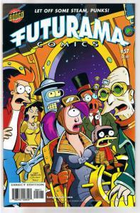FUTURAMA #57, NM, Bongo, Fry, Bender, Leela, Professor Farnsworth, more in store